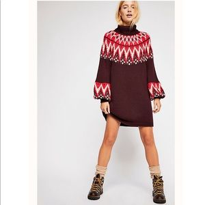 Free People Scotland Sweater Dress (oversized)